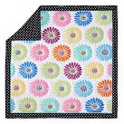 Flower Pop Quilt, Twin, Multi