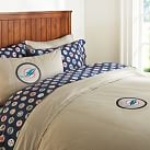 Miami Dolphins Duvet Cover, Twin, Orange