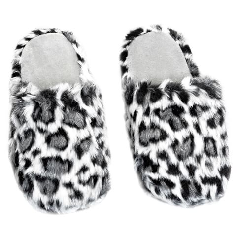 Furry Slippers, Small, Jaguar
