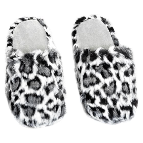 Furry Slippers, Small, Jaguar