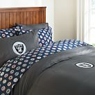 Oakland Raiders Duvet Cover, Twin, Orange