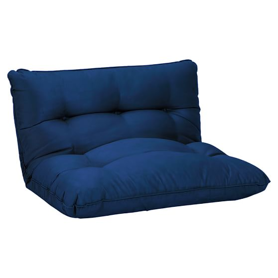 Flip Floor Lounger, Single, Navy