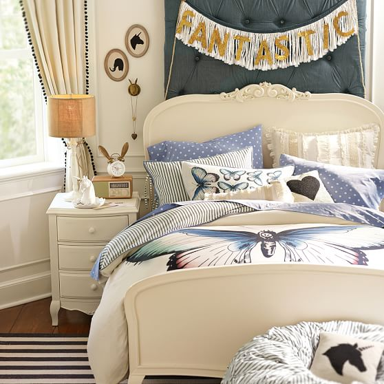 The Emily and Meritt Butterfly Duvet Cover, Twin