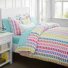 Vine Flannel Duvet Cover, Twin