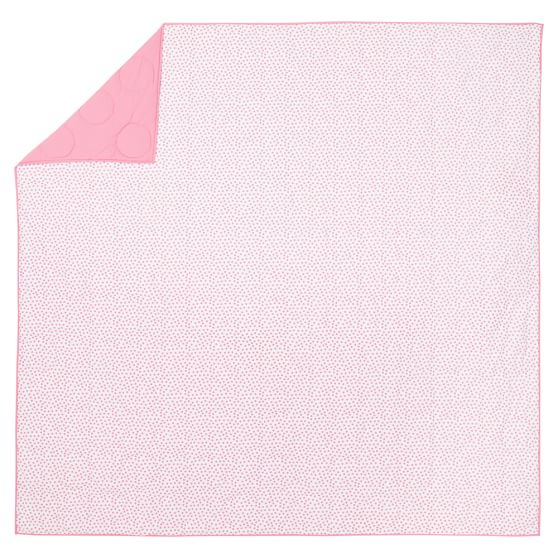 Classic Dot Quilt, Full/Queen, Bright Pink