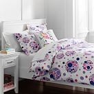 Bubble Pop Duvet Cover, Twin, Purple Multi