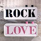 Love to Rock Speaker, White/Black