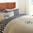 New York Jets Duvet Cover, Twin, Orange