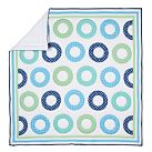 Dottie Circle Quilt, Twin, Green