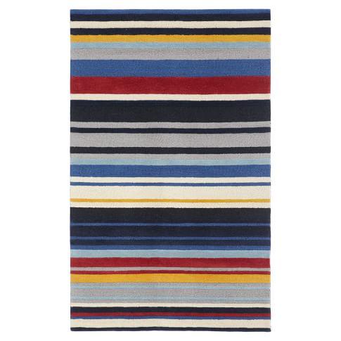 Americana Stripe Rug, 3x5