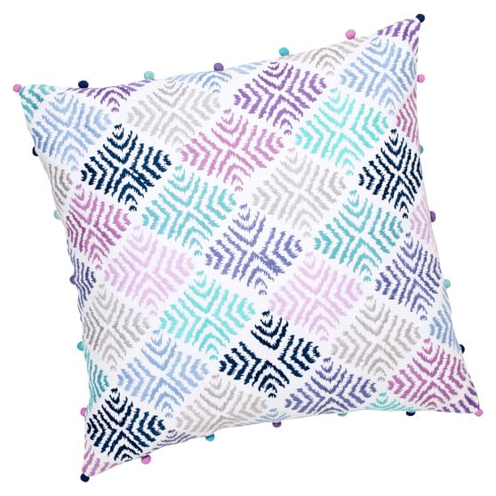 Surf Sessions Decorator Crewel Surf Pillow Cover, Cool