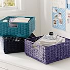 Stackable Wicker Bins, Cool