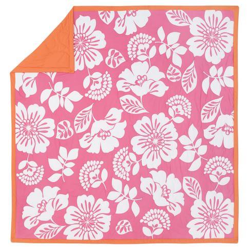 Lahaina Quilt, Full/Queen, Pink Multi