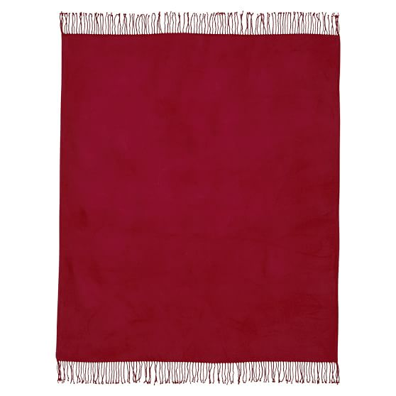 PBT Essential Throw, Red