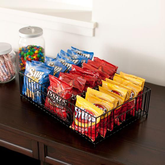 Wire Food Display, Black,