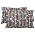 MLB Pillowcases, Standard, Set of 2, National League