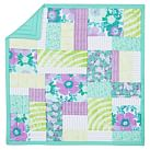 Mauna Loa Patchwork Surf Quilt, Twin