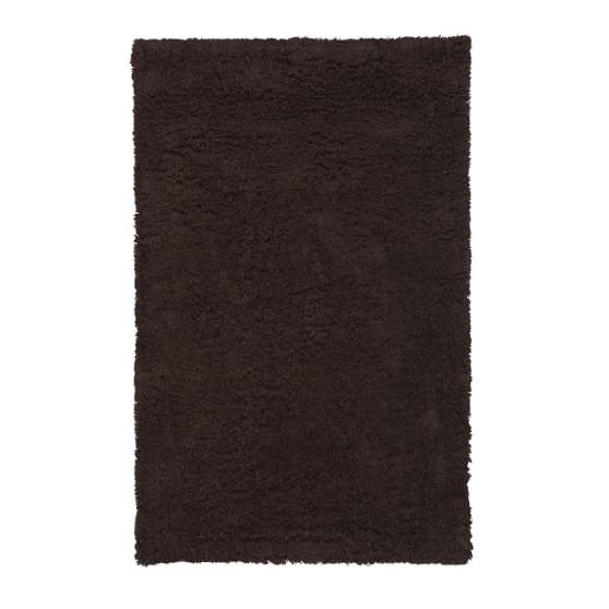 Ultra Plush Rug, 8x10', Dark Coffee