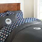 Baltimore Ravens Duvet Cover, Twin, Orange