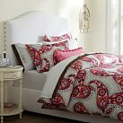 Retro Paisley Duvet Cover, Multi, Twin