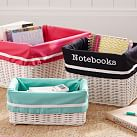 Hideaway Basket Liner, Mini, Pink Suite Ribbon