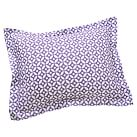 Petal Dot Sham, Standard, Purple