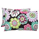 Camilla Floral Pillowcases, Set of 2, Multi