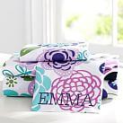 Abby Floral Sheet Set, Full, Purple Multi
