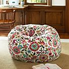 Bella Floral Beanbag, Slipcover Only