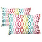 Palm Beach Pillowcases, Set of 2, Multi