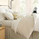 The Emily & Meritt Metallic Dottie Duvet Cover, Twin
