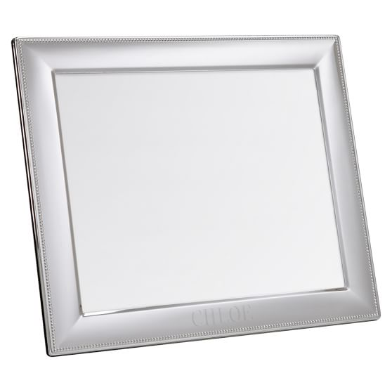 Silver Beaded Frame, Horizontal, 8x10