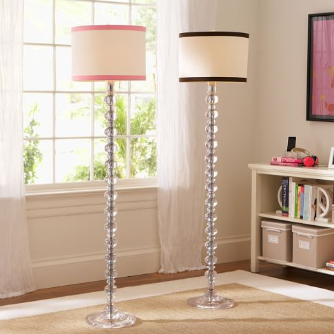De-Lite Floor Base + CFL Bulb, Clear