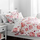 Bubble Pop Duvet Cover, Full/Queen, Pink Multi