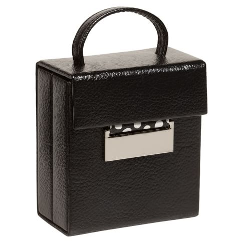 Classic Jewelry Travel Case, Black