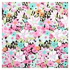 Fabric-Covered Tackboard, Warm Meadow Floral