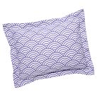 Quincy Scallop Standard Sham, Purple