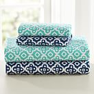 Boho Medallion Sheet Set, Twin/Twin XL, Royal Navy