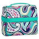 Gear-Up Ceramic Pool Paisley Retro Lunch Bag