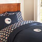 New England Patriots Duvet Cover, Twin, Orange