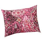 Lucia Mosaic Tile Sham, Standard, Pink Multi