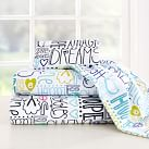 Sweet Dreams Flannel Sheet Set, Twin/Twin XL, Cool