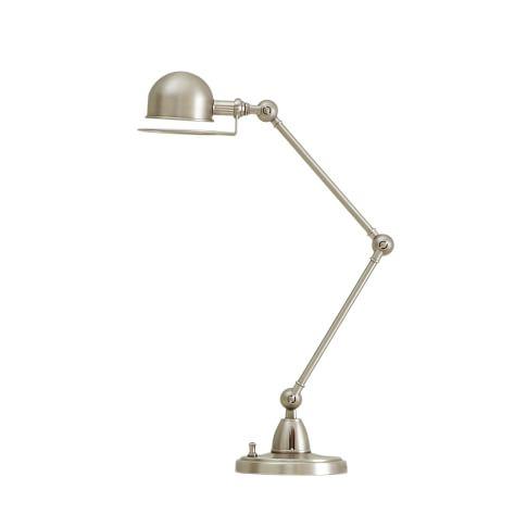 Hi-Light Task Lamp + CFL Bulb, Brushed Nickel
