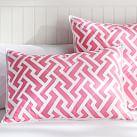 Links A Lot, Standard Sham, Bright Pink