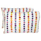 Rainbow Dot Pillowcases, Multi, Set Of Two, Standard