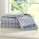 Simple Fav Tee Sheet Set, Twin/XL Twin, Navy