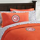 NBA 2014 Atlanta Hawks Duvet Cover, Full/Queen, Orange