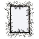 Romantic Wire Frame, 5x7'', Black