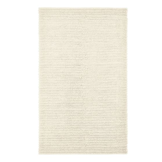 Textured Wool Rug, 3x5', Natural