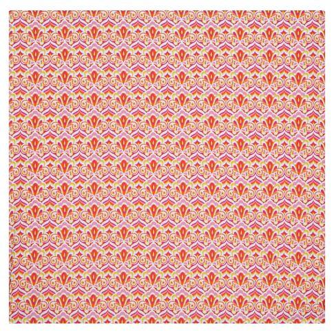 Portofino Duvet Cover, Full/Queen, Pink Multi